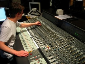 recording engineer