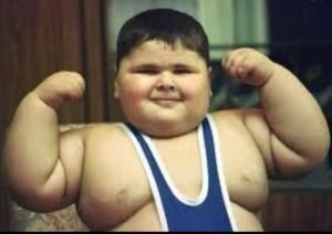 Chubby wrestler